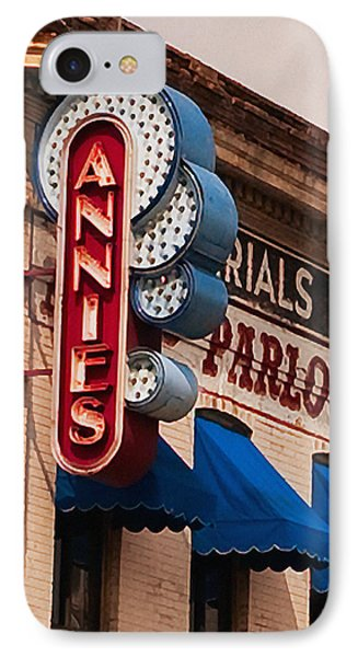 Annies U Of M IPhone 7 Case by Susan Stone