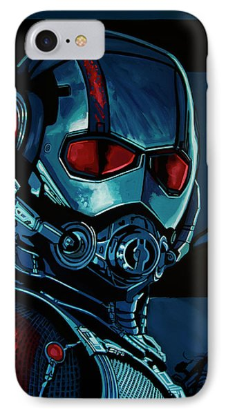 Ant Man Painting IPhone Case by Paul Meijering