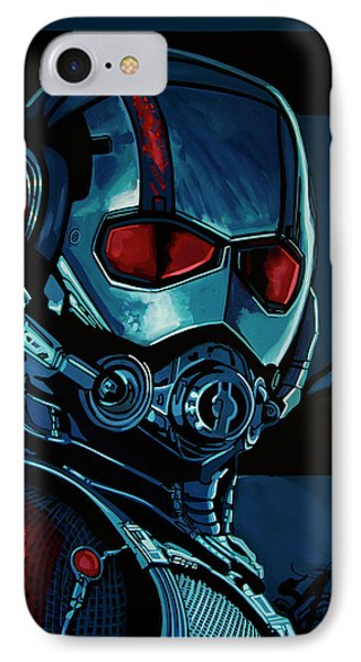 Ant Man Painting IPhone 7 Case by Paul Meijering