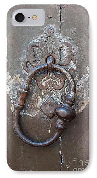Antique Door Knocker IPhone Case by Elena Elisseeva