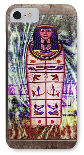 Antique Egyptian Magic IPhone Case by Ian Gledhill