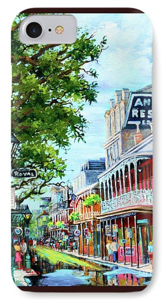 Antoine's IPhone Case by Dianne Parks