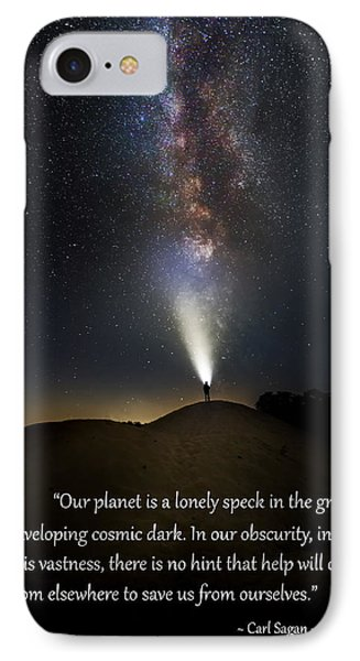 Anybody Out There IPhone Case by Bill Wakeley
