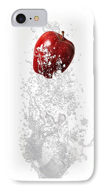 Apple Splash IPhone Case by Marvin Blaine