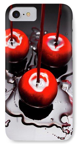 Apple Taffy Still Life. Halloween Treats IPhone Case by Jorgo Photography - Wall Art Gallery