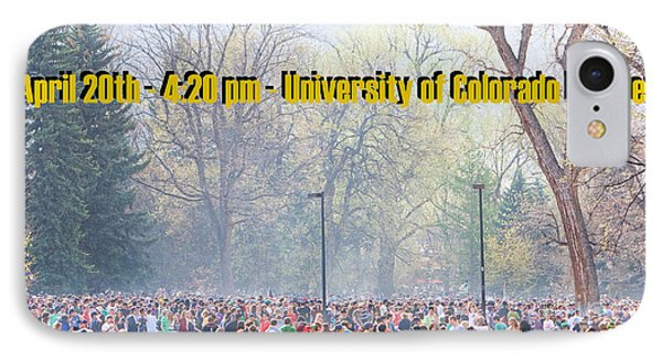 April 20th - University Of Colorado Boulder Phone Case by James BO  Insogna