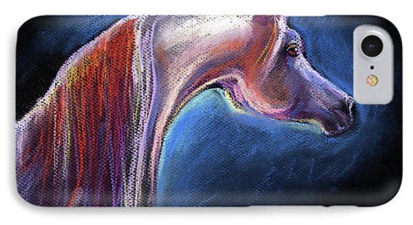 Arabian Horse Equine Painting Phone Case by Svetlana Novikova