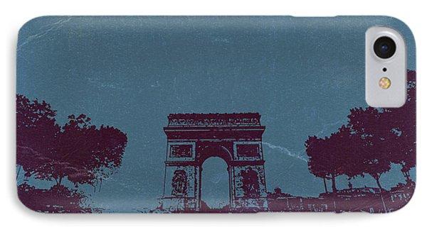 Arc De Triumph Phone Case by Naxart Studio