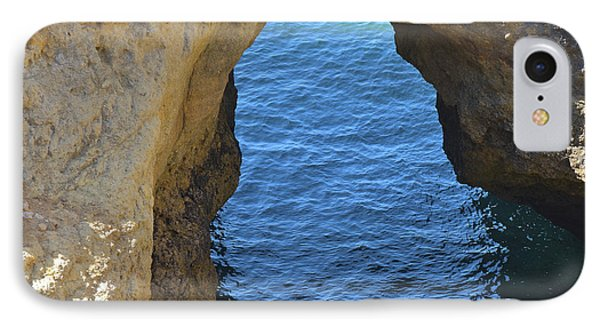 Arched Cliff In Carvoeiro IPhone Case by Angelo DeVal