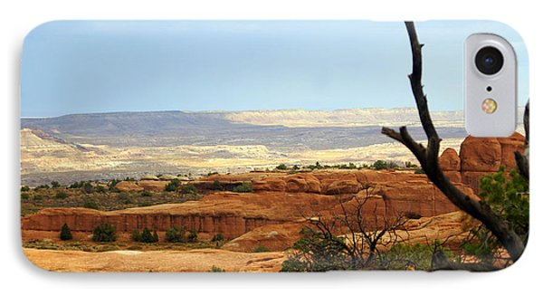 Arches Vista Phone Case by Marty Koch