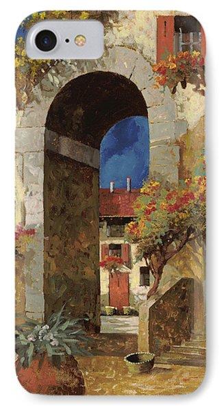 Arco Al Buio IPhone Case by Guido Borelli