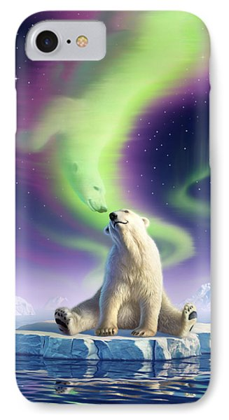 Arctic Kiss IPhone Case by Jerry LoFaro