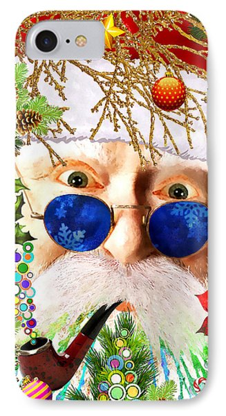Are You Naughty Or Nice? IPhone Case by Stacey Chiew