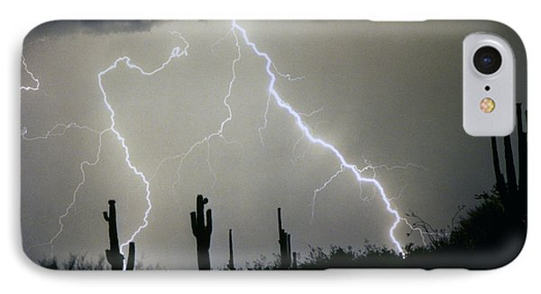 Arizona Desert Storm Phone Case by James BO  Insogna