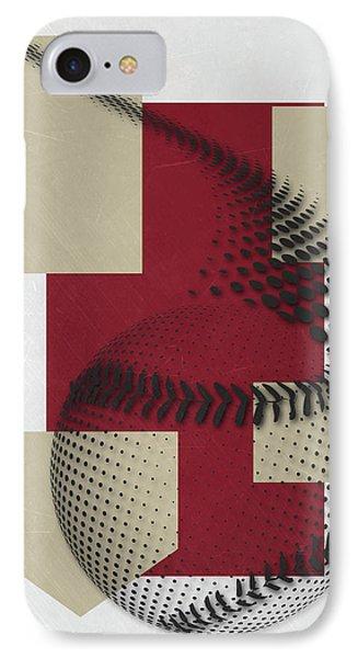 Arizona Diamondbacks Art IPhone 7 Case by Joe Hamilton