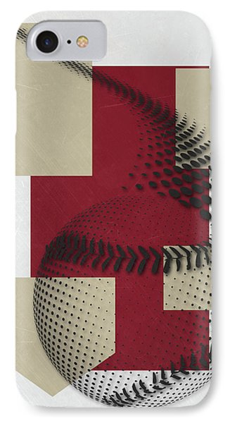 Arizona Diamondbacks Art IPhone Case by Joe Hamilton