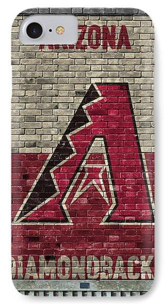 Arizona Diamondbacks Brick Wall IPhone 7 Case by Joe Hamilton