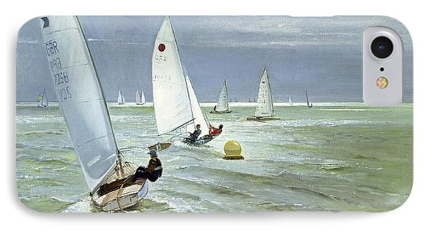 Around The Buoy Phone Case by Timothy Easton