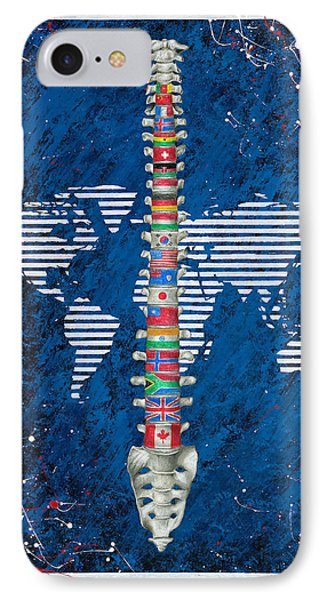 Around The World Phone Case by Brent Buss