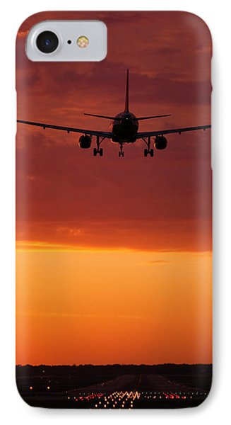 Arriving At Day's End IPhone Case by Andrew Soundarajan
