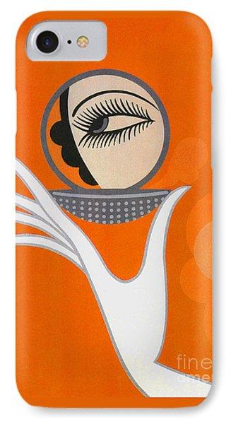 Art Deco Fashion Illustration IPhone Case by Tina Lavoie