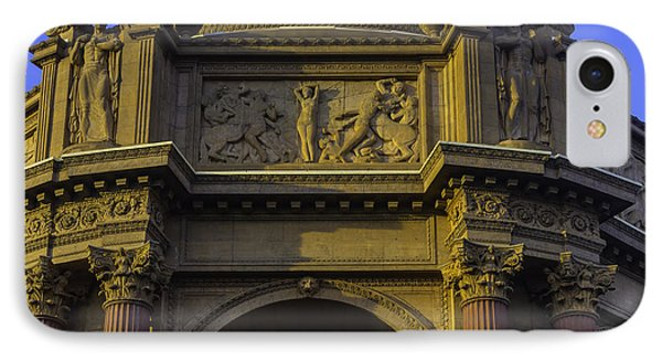 Artful Palace Of Fine Arts IPhone Case by Garry Gay
