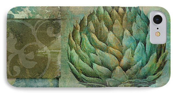 Artichoke Margaux IPhone Case by Mindy Sommers