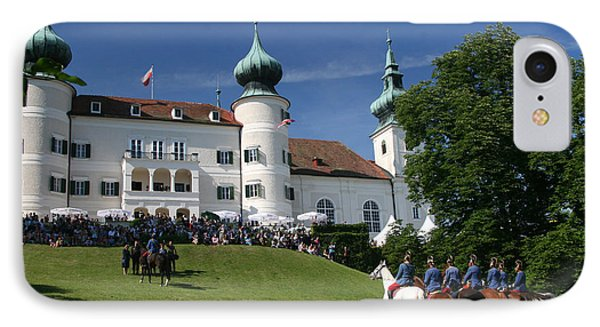 IPhone 7 Case featuring the photograph Artstetten Castle In June by Travel Pics