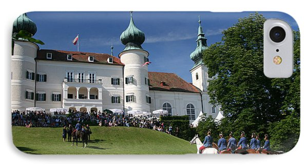 IPhone Case featuring the photograph Artstetten Castle In June by Travel Pics