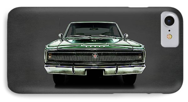 Dodge Charger 426 Hemi IPhone Case by Mark Rogan
