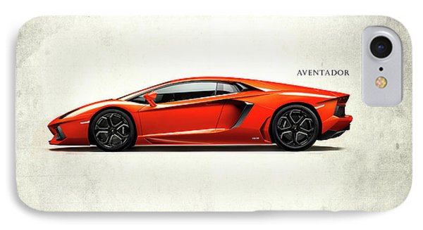 Lamborghini Aventador IPhone Case by Mark Rogan