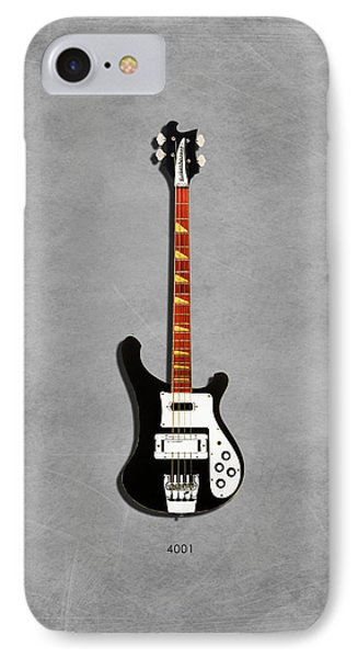 Rickenbacker 4001 1979 IPhone Case by Mark Rogan