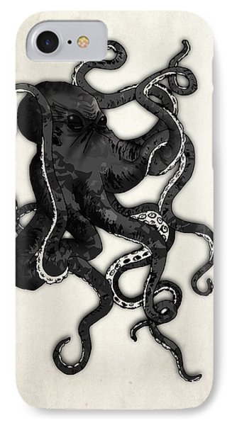 Octopus IPhone Case by Nicklas Gustafsson