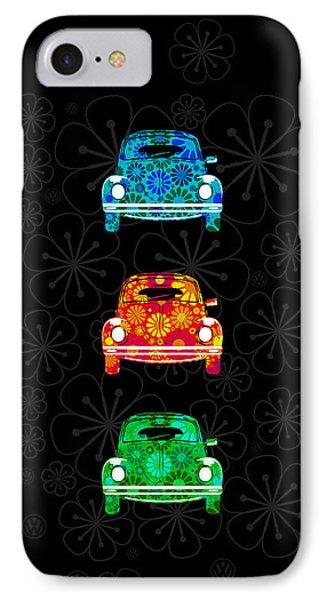 Vw Flower Power Phone Case by Mark Rogan