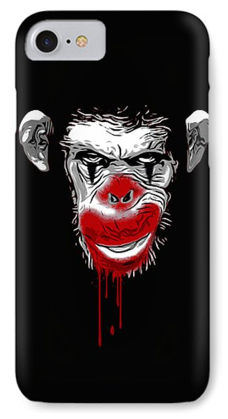 Evil Monkey Clown IPhone Case by Nicklas Gustafsson