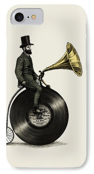 Music Man IPhone Case by Eric Fan