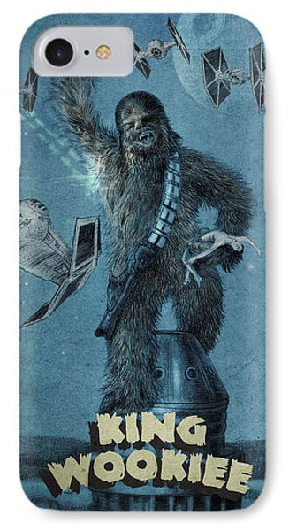 King Wookiee IPhone Case by Eric Fan