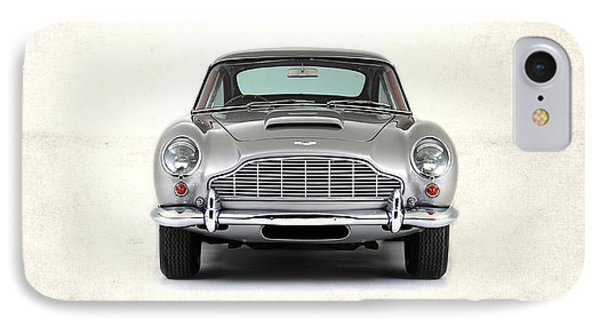 The Aston Martin Db5 IPhone Case by Mark Rogan