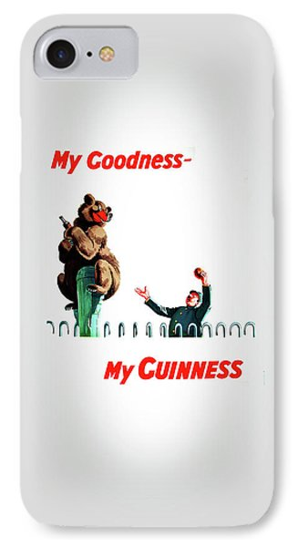 My Goodness My Guinness 2 IPhone 7 Case by Mark Rogan