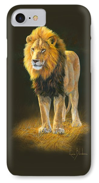 In His Prime IPhone Case by Lucie Bilodeau
