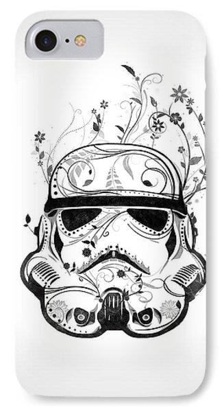 Flower Trooper IPhone Case by Nicklas Gustafsson