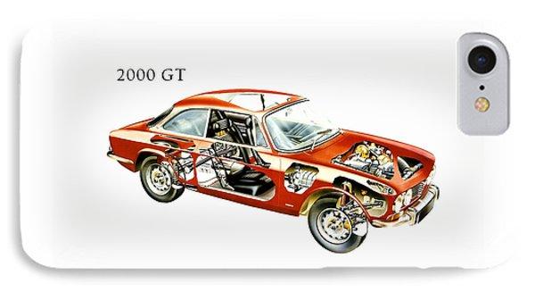 Alfa Romeo 2000 Gt 1971 IPhone Case by Mark Rogan