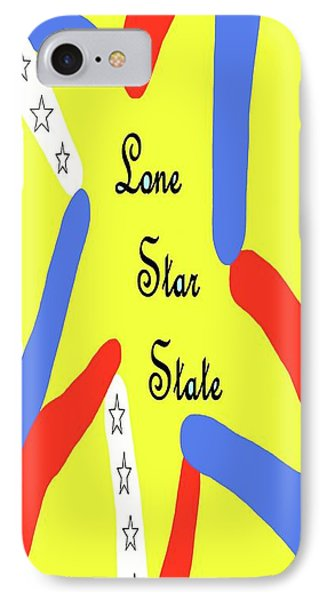 Lone Star State IPhone Case by Eloise Schneider