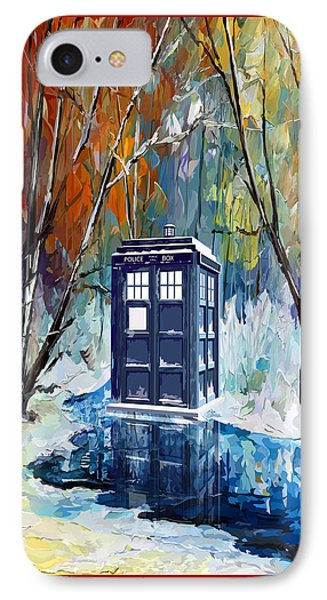 Winter Blue Phone Box IPhone Case by three Second