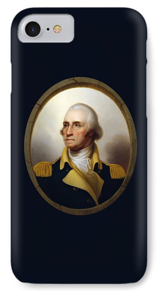 General Washington - Porthole Portrait  IPhone Case by War Is Hell Store