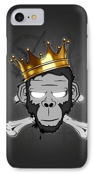 The Voodoo King IPhone Case by Nicklas Gustafsson