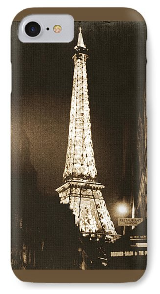 Postcard From Paris- Art By Linda Woods IPhone Case by Linda Woods