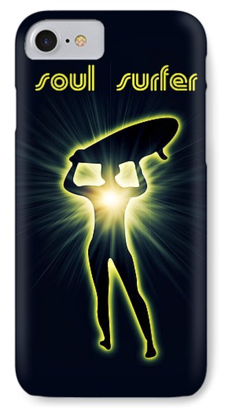 Soul Surfer IPhone Case by Mark Ashkenazi
