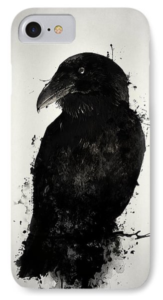 The Raven IPhone Case by Nicklas Gustafsson