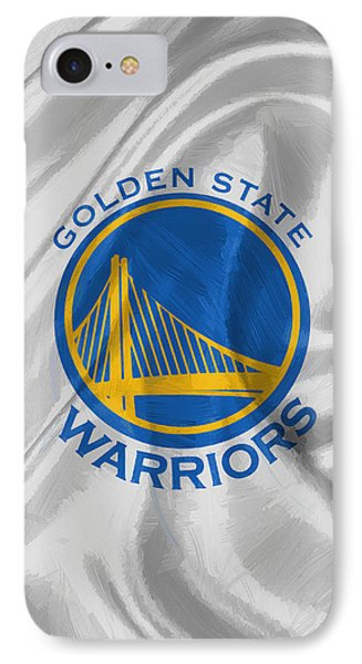 Golden State Warriors IPhone Case by Afterdarkness